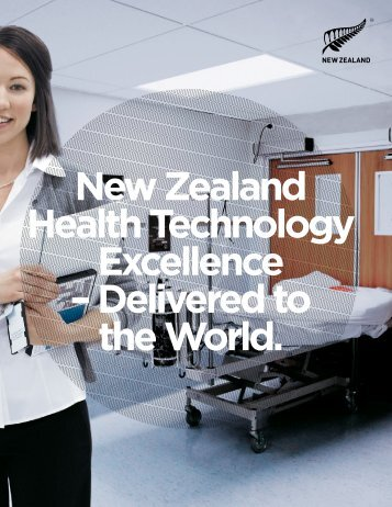 New Zealand Health Technology Excellence - Doing business in ...