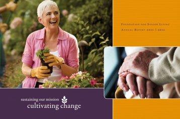 Download PDF - The Foundation for Senior Living