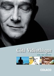 Cote videotheque JUIN 2010.indd - Colaco