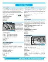 Youth Athletics - Freeport Park District