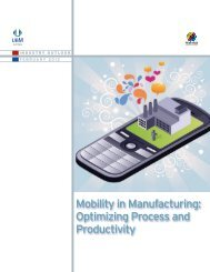 Mobility in Manufacturing: Optimizing Process and Productivity
