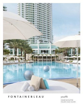 4441 Collins Avenue Miami Beach Fl 33140 Fontainebleau 800