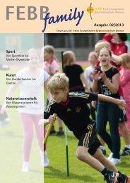 family Ausgabe 02/2013 Sport Kunst Naturwissenschaft - Freie ...