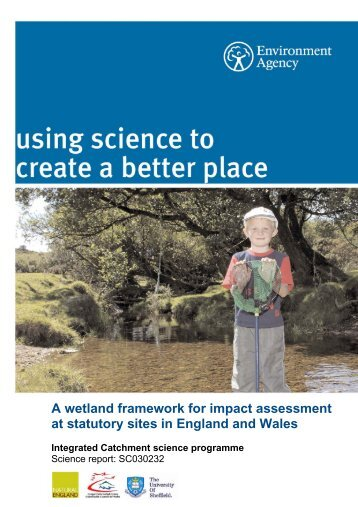A wetland framework for impact assessment at ... - FreshwaterLife