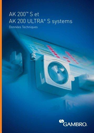 HCFR2391_1 - AK 200 S-ULTRA S leaflet.indd - Gambro