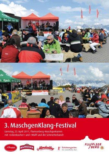 3. MaschgenKlang-Festival - Flumserberg