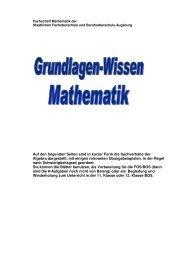 Grundlagen-Script (PDF) - Staatliche Fachoberschule und ...