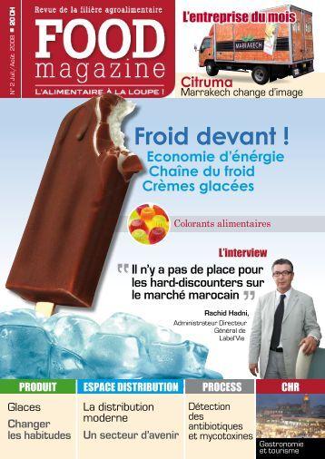 Economie d'énérgie Chaîne du froid Crèmes ... - FOOD MAGAZINE