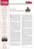 Economie d'énérgie Chaîne du froid Crèmes ... - FOOD MAGAZINE - Page 3