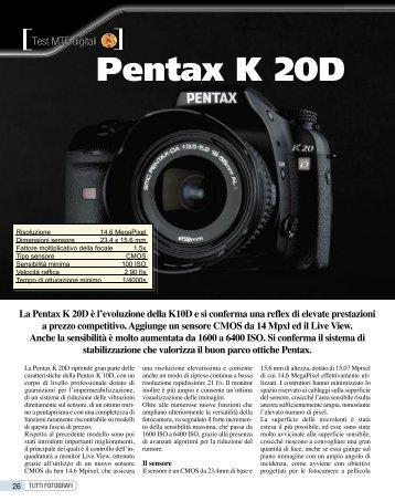 Pentax K 20D - Fotografia.it