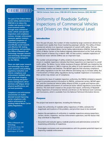 Fmcsa organizational chart federal motor carrier safety for The federal motor carrier safety administration