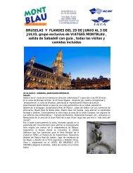 oferta - Flandes y Bruselas