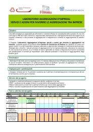 Presentazione progetto LABORATORIO AGGREGAZIONE ...