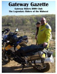 April 2010 - Gateway Riders Index