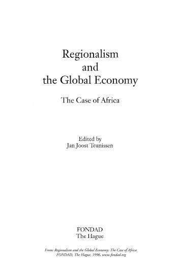 Regionalism (international relations)