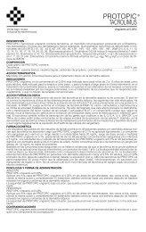 PROTOPIC prosp 6/03 - Gador SA