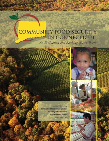 Community Food Security in Connecticut - Food Marketing Policy ...