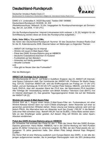 Deutscher Amateur-Radio-Club e.V. DARC e.V. ... - FunkPortal24