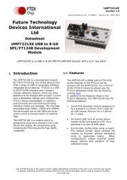 Datasheet - FTDI