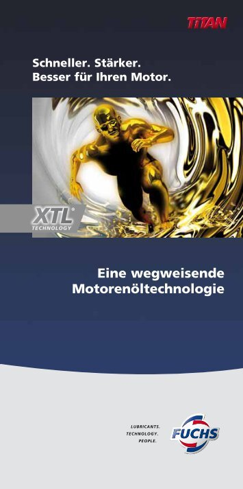 XTL XTL - Fuchs Europe Schmierstoffe GmbH
