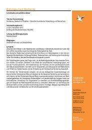 Geplanter Programmablauf Bildungsurlaub Norderney 2013... - Forum Unna