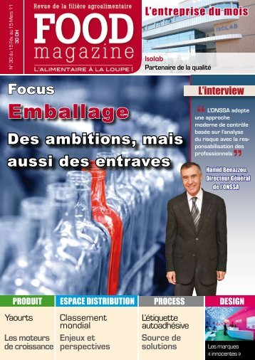 Emballage - FOOD MAGAZINE