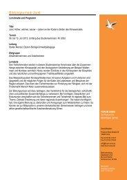 Bildungsurlaub - Programm Juist 2013 - forum unna
