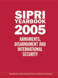 SIPRI Yearbook 2005
