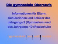 E-Phase-Info - gymnasium am wall verden