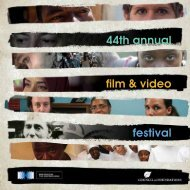 44th annual film & video festival - Council on Foundations - Film ...
