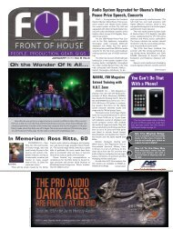 January Issue - FOH Online