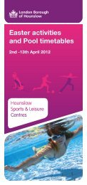Easter activities and Pool timetables - Fusion Lifestyle