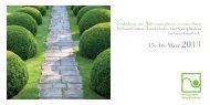 15.-16. März 2013 - Verband Garten-,Landschafts- und ...