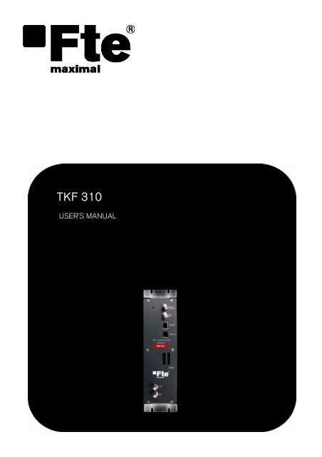 TKF 310 - FTE Maximal
