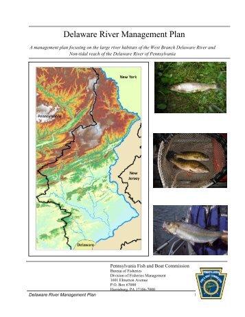 Delaware River Management Plan - Pennsylvania Fish and Boat ...