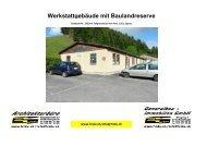 Bilddokumentation PDF Grundstück mit Werkstattgebäude...