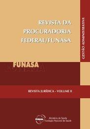 Revista da Procuradoria Federal - Funasa