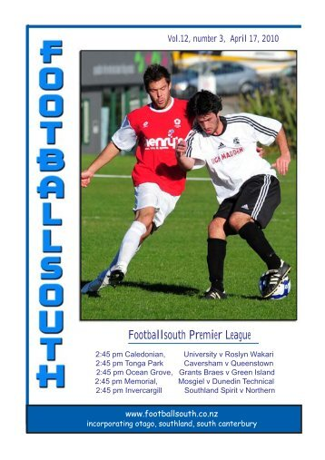 17th April 2010 - Football South
