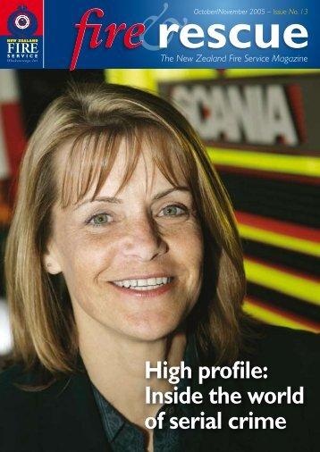 High profile - New Zealand Fire Service