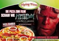 DIE PIZZA ZUM FILM! - Flying Pizza