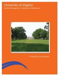 Facilities Management - University of Virginia