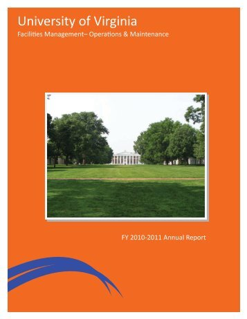 Facilities Management - University of Virginia
