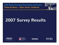 2007 Survey Results