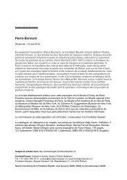 Pierre Bonnard - Fondation Beyeler