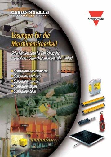 Sicherheitstrittmatten - CARLO GAVAZZI GmbH