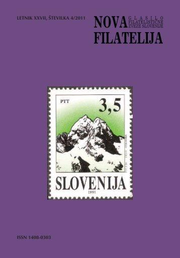 Številka 4, letnik 2011 - Filatelistična zveza Slovenije