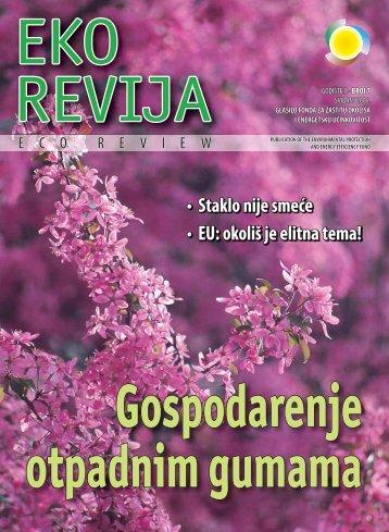 Eko revija broj 7 - Fond za zaštitu okoliša i energetsku učinkovitost