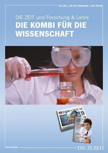 DIE KOMBI FÜR DIE WISSENSCHAFT - Forschung & Lehre