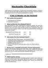 Hier geht´s zur Hochzeits-Checkliste