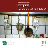 Har du styr på dit køkken? - Fødevarestyrelsen